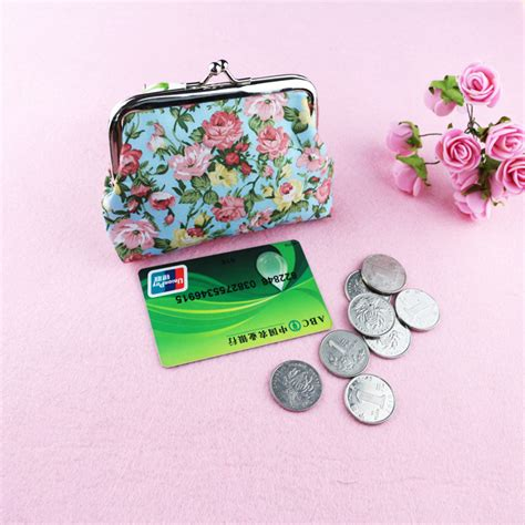 Key Bank Gift Cards - large women s rose coin purse small wallet coin case key wallet bank card bag small