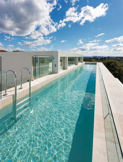 spectacular pools rooftop lap pool with spectacular views completehome