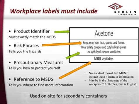 labels for canisters must use these juju place pinterest whmis training course for external publishing