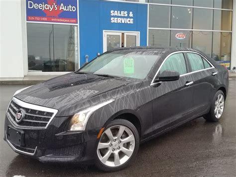 cadillac vehicles 2014 2014 cadillac ats awd black deejays auto sales service