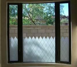 Privacy window glass sans soucie art glass