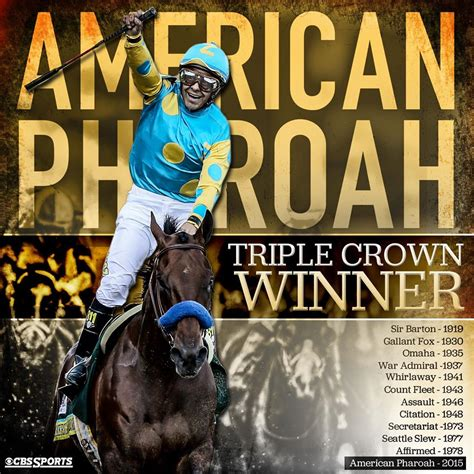 American Pharaoh wins the Triple Crown   The Pulse