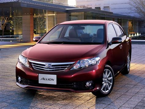 Toyota Allion 2012 Fuel Consumption Toyota Allion Technical Specifications And Fuel Economy