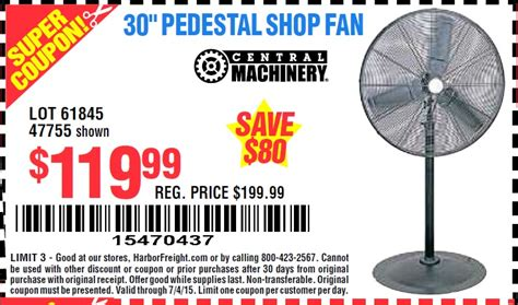 harbor freight floor fans shop fan harbor freight 28 images harbor freight