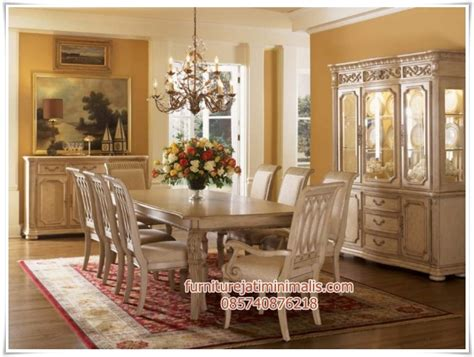 Meja Makan Minimalis Di Informa set meja makan klasik amazing meja makan klasik set meja
