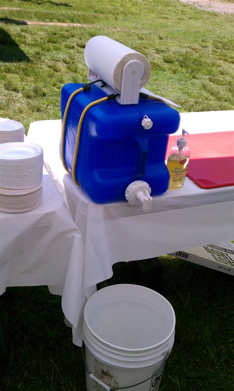 Camper Kitchen Faucet hand washing station do it and how