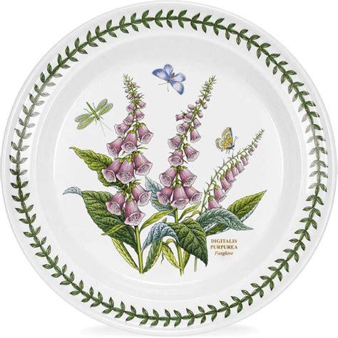 Botanic Garden Plates Portmeirion Botanic Garden Plate 25cm Foxglove Louis Potts