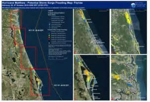 hurricane matthew potential surge flooding map