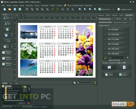 make a photo calendar free mojosoft photo calendar studio 2016 free