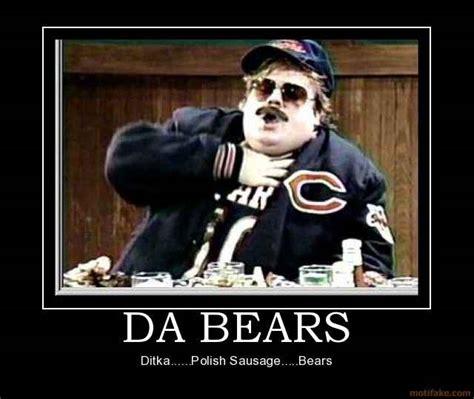 Da Bears Meme - who would win in a fight ditka or hoge