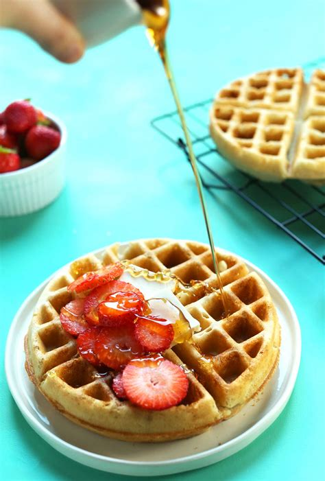 waffle cookbook 30 delicious waffle recipes you can enjoy for breakfast books the best vegan gluten free waffles minimalist baker recipes