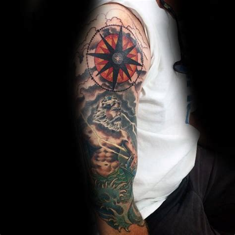 star sleeve tattoos for men 80 nautical designs for manly ink ideas