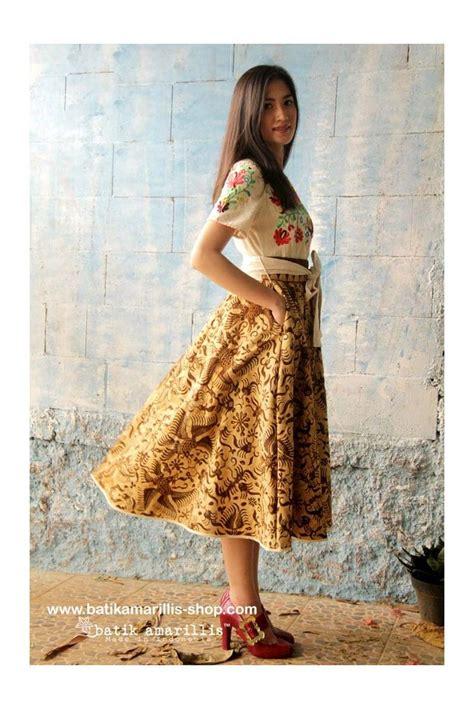 dress batik sogan 002 43 best batik amarillis s dress images on