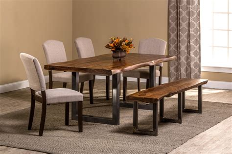 cheap dining room sets home furniture design new arrival hillsdale emerson 6 piece 80 215 39 rectangular