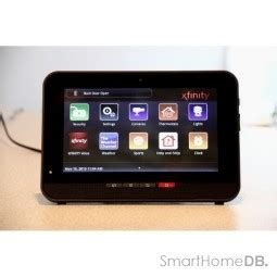xfinity home security touch screen tca203com answers faq