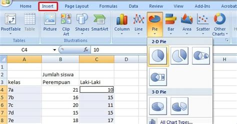 trik cara membuat grafik regresi linier di excel 2007 menilkan label pada grafik pie tips trik ilmu komputer