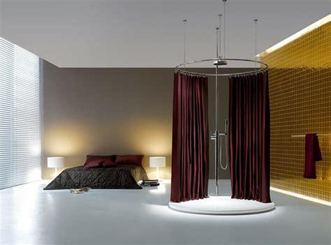 schiebetür glas badezimmer landhausschlafzimmer