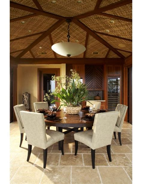 tropical dining room kukio dining tropical dining room hawaii by