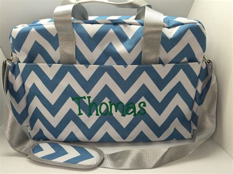 personalized diaper bag monogrammed bag baby boy shower