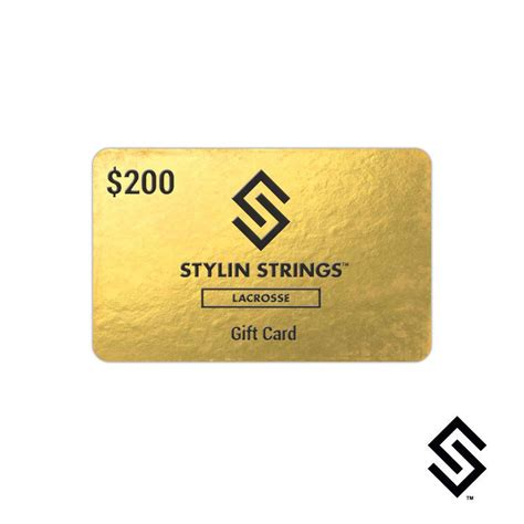 200 Gift Card - stylinstrings 200 gift card stylin strings
