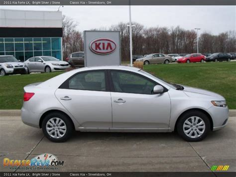 2011 kia forte lx bright silver 2011 kia forte lx photo 2 dealerrevs