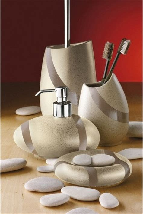 Modern Bathroom Accessories Uk Sandstone Bathroom Accessory Set Contemporary Bathroom Accessory Sets By