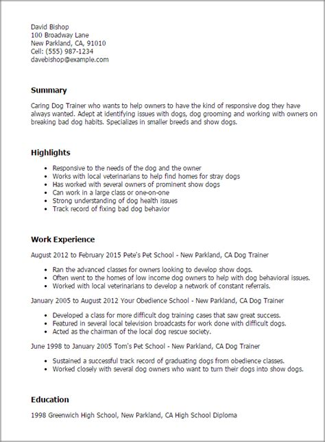 trainer resume format 1 trainer resume templates try them now