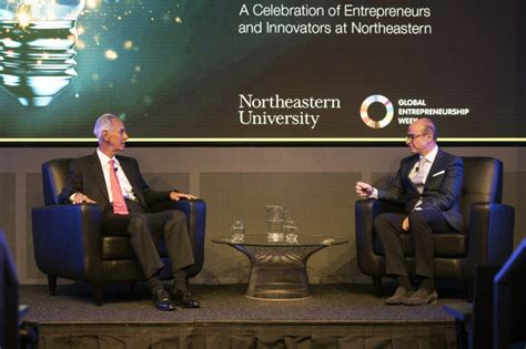 Us News Northeastern Mba by Northeastern Honors Alumnus Amin Khoury With Inaugural