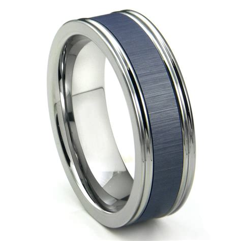 Wedding Bands Him by 15 Photo Of Blue Wedding Bands For Him