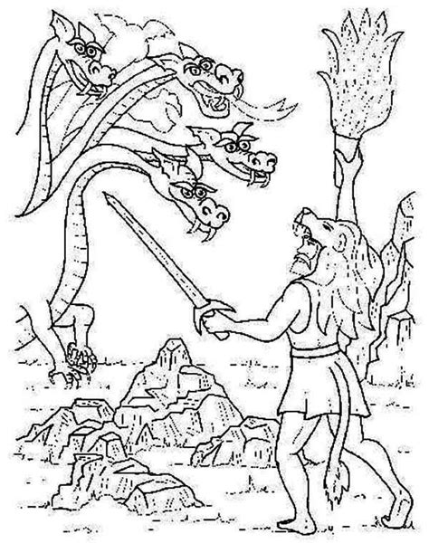 coloring pages for adults mythical greek mythology greek mythology story of fighting the