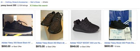 ebay yeezy people are going nuts after kanye west s new adidas