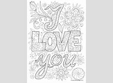 love poem coloring pages for adults - Love Poem Coloring Pages For Adults