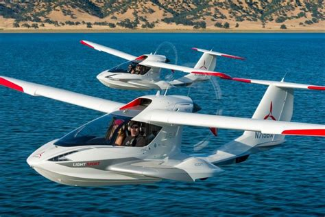 small boat plane hibious private jets personal airplane