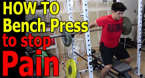 bench press without shoulder pain how to bench press without pain deadlift nerd