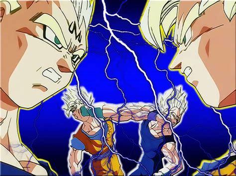 imagenes de goku dibujos image goku vs majin vegeta by raikaisei jpg dragon