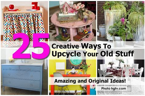 hgtv diy projects 25 creative ways to upcycle your stuff