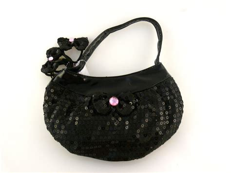 Accessorizes I Purse by Sequin Purse For With Bow Hair