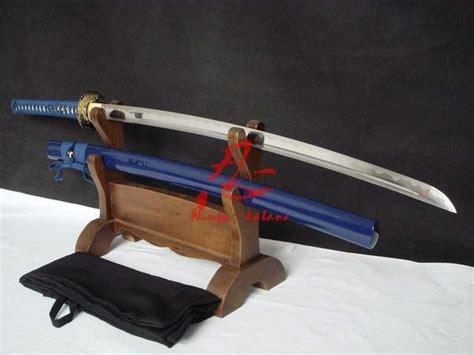 Authentic Handmade Katana - handmade japanese katana sword bird tsuba sharpened