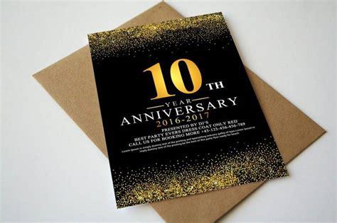 21 Anniversary Invitation Designs Templates Psd Ai Free Premium Templates 10 Year Anniversary Invitation Templates