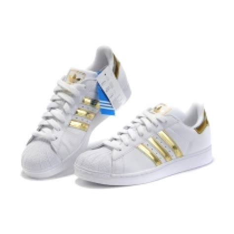 white shoe adidas superstar sneaker casual golden white shoes