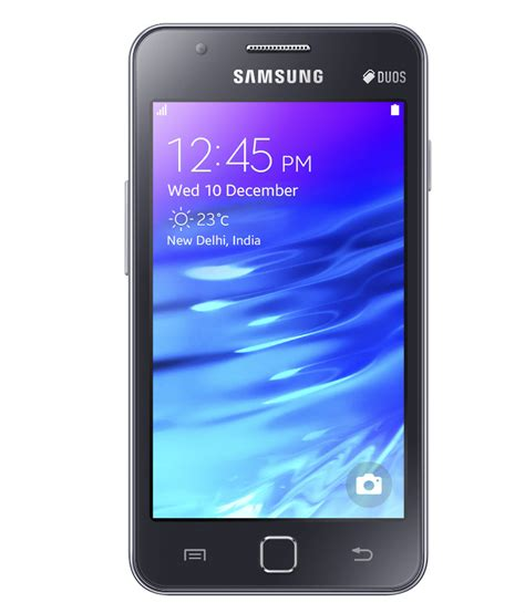samsung z1 z130h black price in india buy samsung z1 z130h black on snapdeal