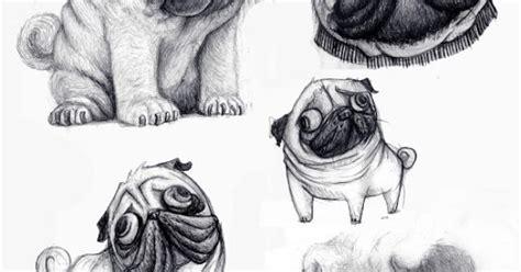 pug doodle pug doodles illustration illustrations pug doodles and illustrations