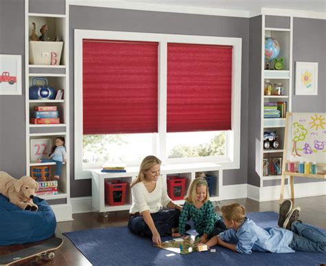 blinds for kids bedrooms levolor accordia single cell room darkening shades