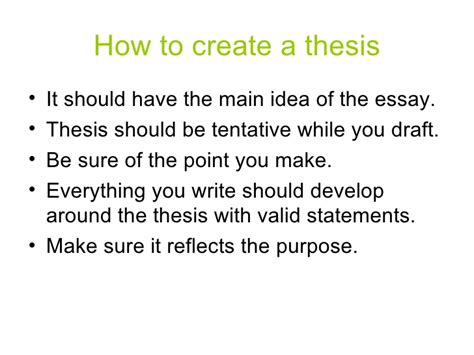 make me a thesis help me make a thesis statement