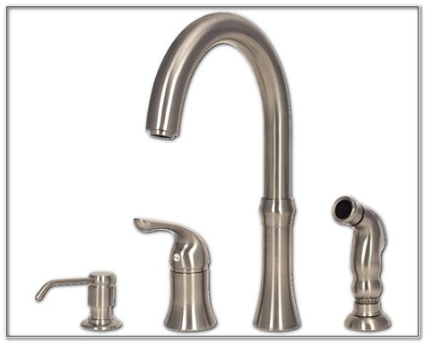 4 hole kitchen faucet sinks and faucets home design