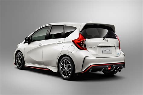 nissan note nissan note gets the nismo treatment in japan 18 photos