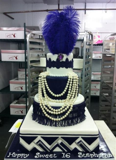 20s themed decorations roaring 20s inspired sweet 16 cake great gatsby