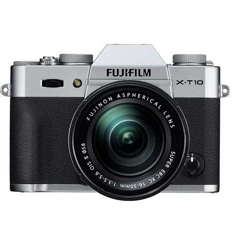 Kamera Mirrorless Fuji fujifilm x t10 mirrorless digital with 16 50mm 16471380