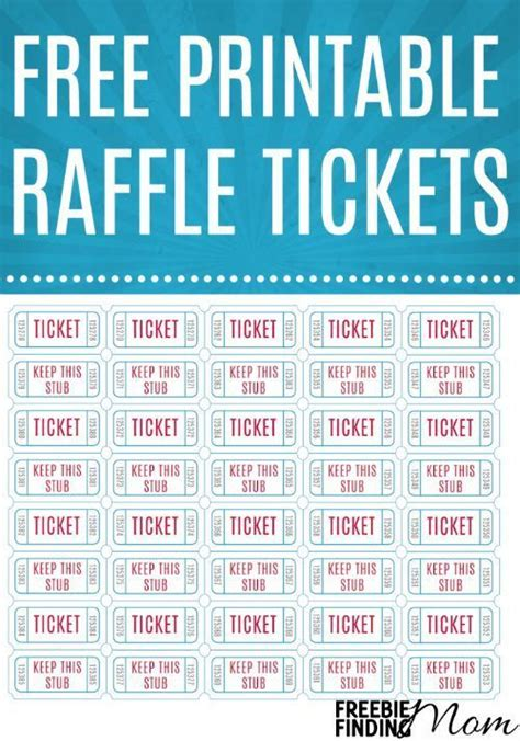 7 best images of avery printable event tickets avery 25 best ideas about printable raffle tickets on pinterest