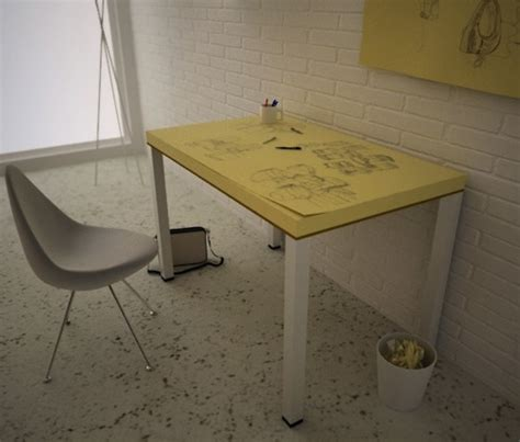 Doodle Desk by For Designers To Constantly Doodle A Post It Note